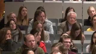Alice Schwarzer und Kachelmann an der Uni Köln