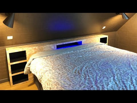 Fabriquer une tête de lit en OSB