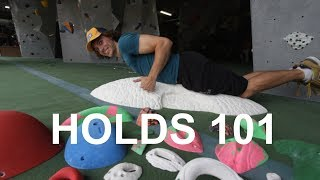 Holds 101 - Climbing for beginners