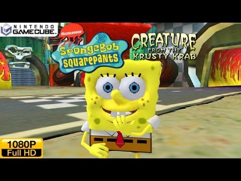 spongebob squarepants creature from the krusty krab ds rom