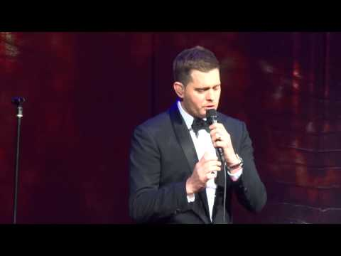 Michael Buble   opening Fever  To Be Loved World Tour Sydney 100514