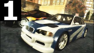 Need For Speed: Most Wanted Walkthrough Gameplay Part 1 (No Commentary Playthrough) (NFS MW 2005)
