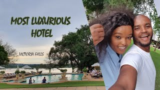 MOST LUXURIOUS HOTEL IN LIVINGSTON ZAMBIA   THE WAJESUS FAMILY