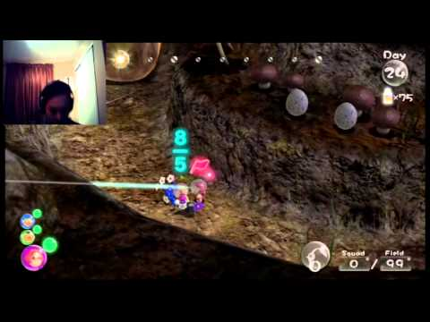 Pikmin 3: Episode 24 - Mysterious Life Form - YouTube