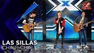 El tema original de Malva conquista a Xavi Martínez: ¡tienen una silla! | Sillas 2 | Factor X 2018