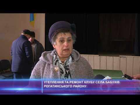 Утеплення та ремонт клубу села Бабухів Рогатиського району