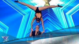 La SENSUALIDAD y TÉCNICA de este DÚO te dejarán FLIPANDO | Audiciones 7 | Got Talent España 5 (2019)