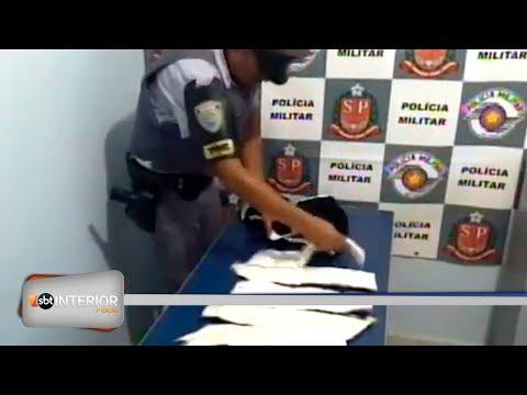 TOR encontra cocaína presa em corpo de boliviano