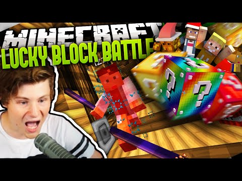 IZZI HAT DEN MEGA STICK | Minecraft LUCKY BLOCK BATTLE 2 #26 | Dner