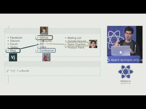 Christopher Chedeau - Being Successful at Open Source at react-europe 2016
