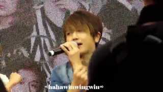 [JPOP]AAA- Wake Up! (Nissy Focus) @AAA FanMeeting in HK