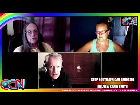 Stop South African Genocide | Mel Ve & Karin Smith talk to Dan Roodt | 03 October 2017