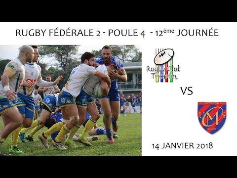 2018 01 14 02 Rencontres Sportives   Rugby Fédérale 2 12ème journée   RCT vs UMS