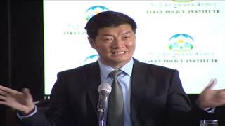Conference on Central Tibetan Administration's International Efforts. April 18, 2014.