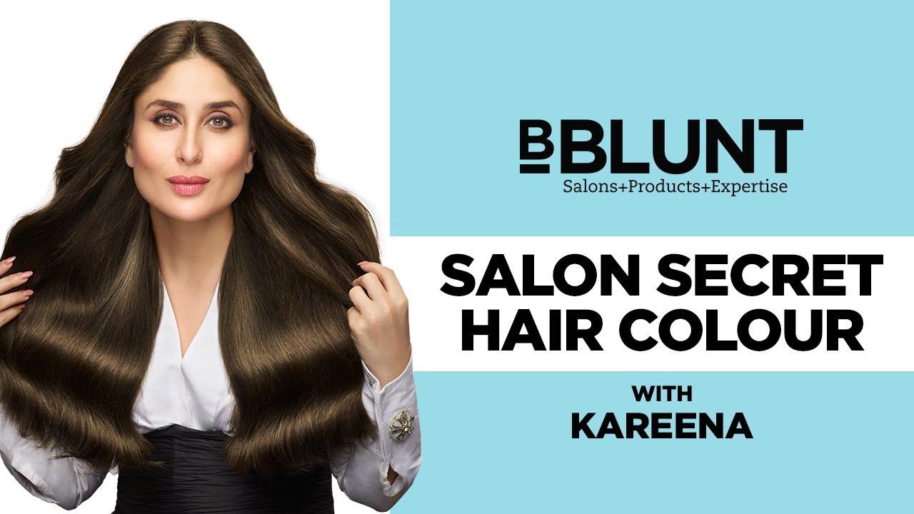 Kareena Kapoor Khan For BBLUNT Salon Secret High Shine Crème Hair - Hair colour kareena kapoor