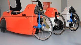 Katanga Velomobile - Different rear wheels (FR/EN)