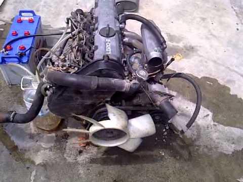 nissan ld20 youtube rh youtube com nissan ld20 diesel engine manual nissan ld20 workshop manual
