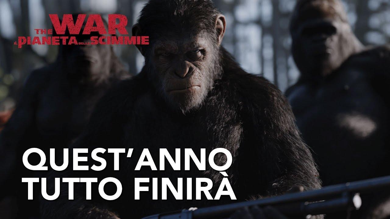 The War - Il Pianeta delle Scimmie | Quest'anno tutto finirà Spot ...