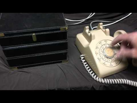 Escape Room Rotary Dial Telephone - actually works!