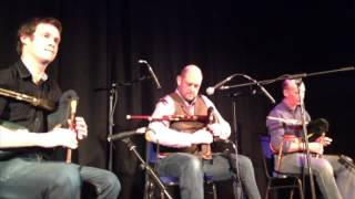 Fin Moore, Gary West and Hamish Moore live at Flowers of Edinburgh 2013