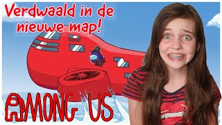 HELP! IK BEN VERDWAALD IN DE NIEUWE AMONG US AIRSHIP MAP!! - Bibi