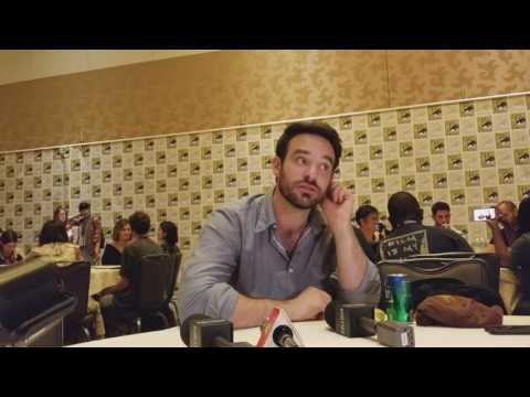 Charlie Cox  Defenders Roundtable at SDCC 2017