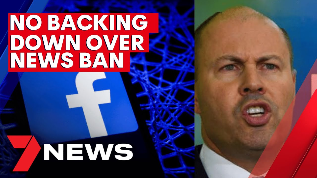 Australia calls on world leaders to support fight over Facebook news media ban | 7NEWS