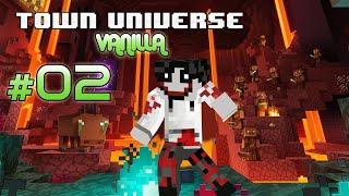 Town Universe Vanilla Bedrock: BUSCANDO una ALDEA #2 1.16.1