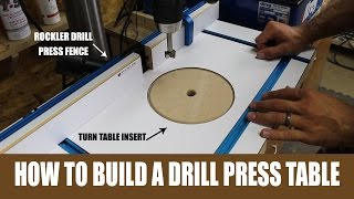This video is not available. How To Make A Drill Press Table