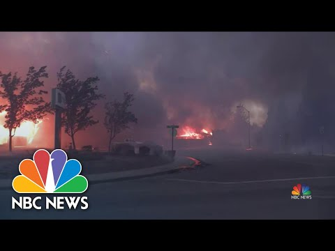 One Million Acres Burned, 'It Feels Like Armageddon' in Oregon | NBC Nightly News