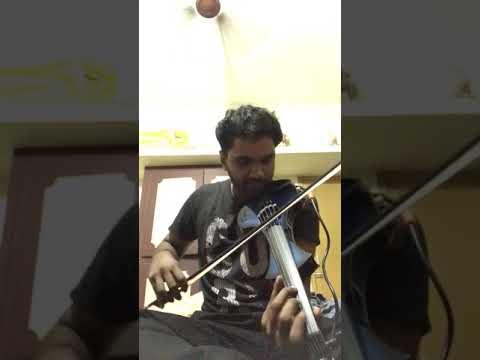 Malare mounama violin by sreerag