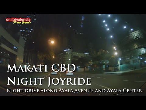 Pinoy Joyride - Makati CBD Night Joyride