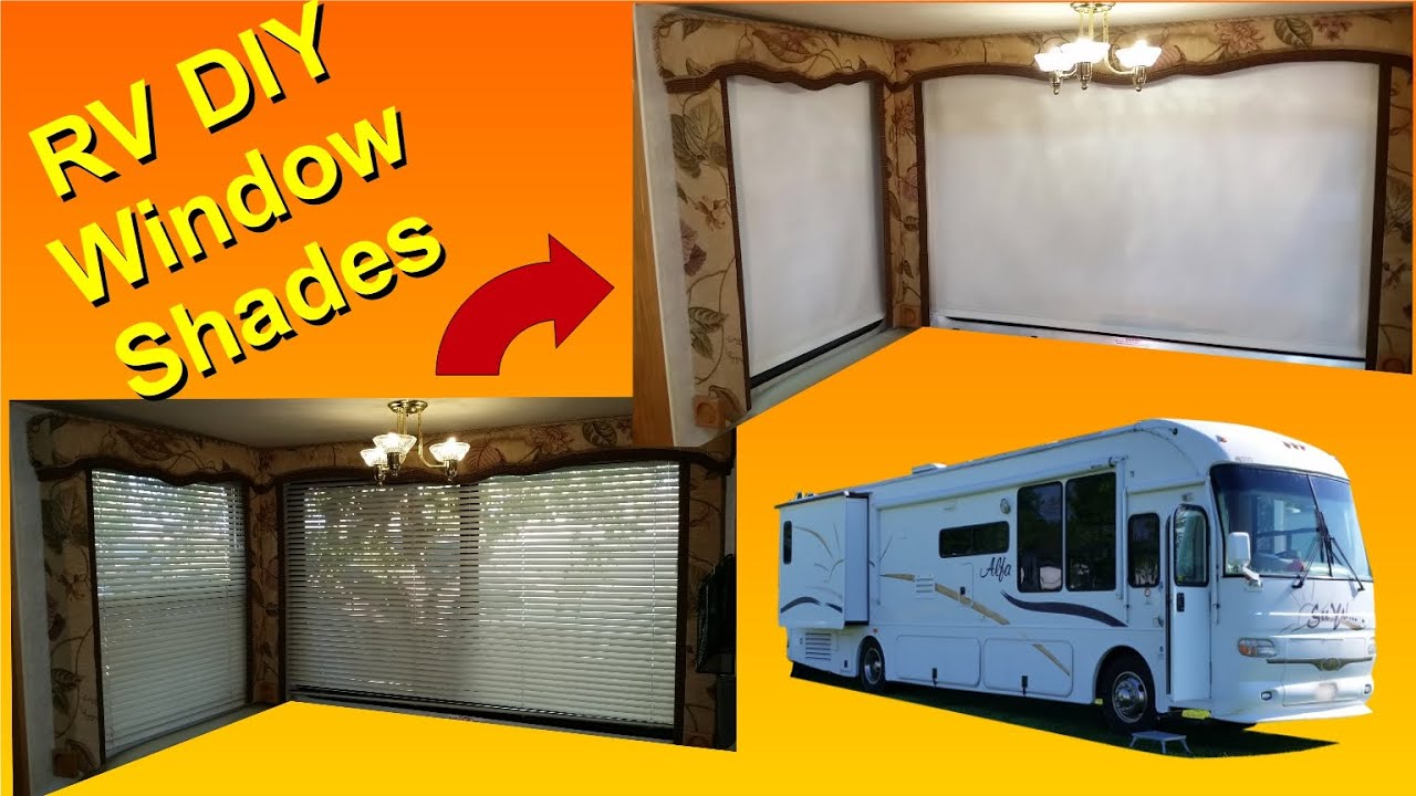 Diy rv window changing from blinds to shades youtube diy rv window changing from blinds to shades solutioingenieria Image collections