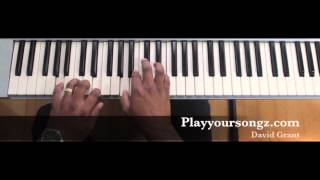 Advanced Piano chords/ The Blood will never lose it