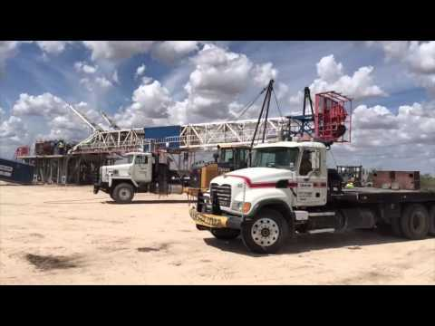 Patriot Energy Oil and Gas Rig Setup