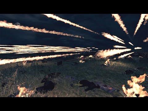 6000 Crossbows vs 1000 Immortals Attila Total War