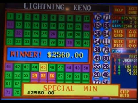 Winning Keno Patterns