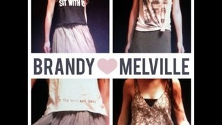Brandy Melville Lookbook Thumbnail