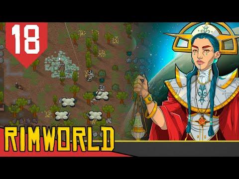Perdendo COLONO, COLUNA e Ficando DOENTE - Rimworld Socialismo Transhumanista #18 [Gameplay PT-BR]