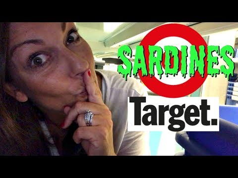 PLAYING SARDINES WHILE WE SHOP AT TARGET! HIDE AND SEEK!