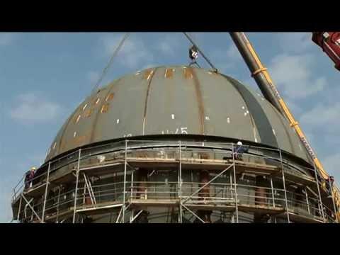 TVK Butadién üzem gömbpalást-beemelés letöltés