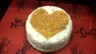 Идея украшения торта для начинающих