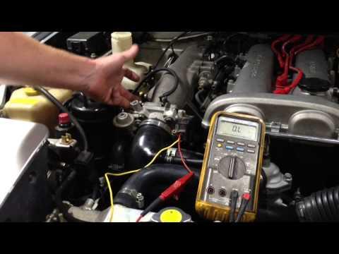Dodge Dakota Engine Diagram Adjusting The Idle On A Miata Youtube