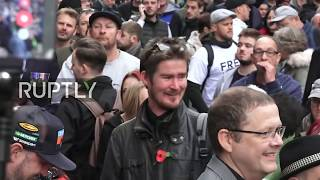 LIVE: Supporters gather outside court as Tommy Robinson faces trial in London