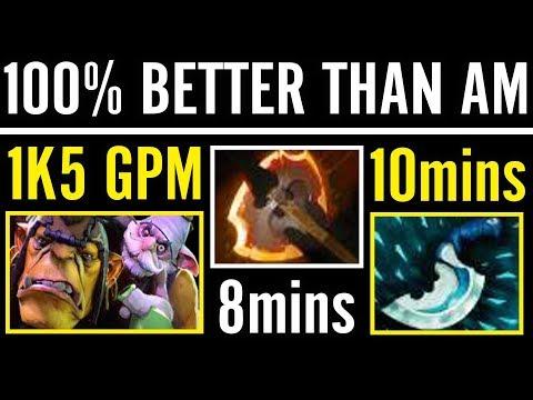 100% Better Than AM Insane Alchemist Carry Fury + Blink Ah.Jit Dota 2 Gameplay