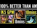 100% Better Than AM Insane Alchemist Carry Fury + Blink Ah.Jit Dota 2 Gameplay