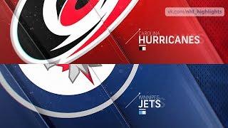Carolina Hurricanes vs Winnipeg Jets Oct 14, 2018 HIGHLIGHTS HD