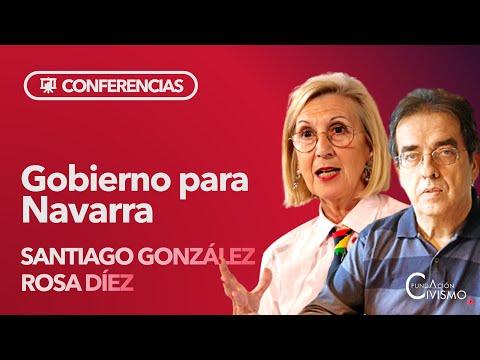 """Rosa Díez Y Santiago González: """"¿Qué Gobierno De España Conviene A Navarra?"""""""