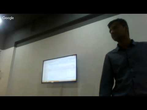 Google Analytics session with Mr. Vinayak Katkar