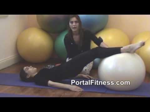 Pilates con Balón o Fitball